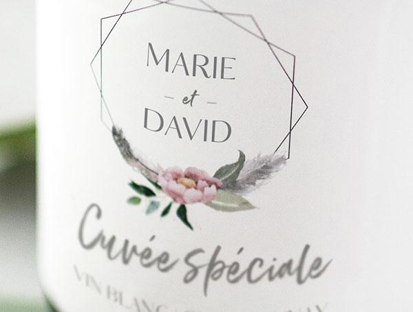 Personnalisation Champagne Marina D